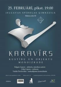 KARAVIIRS_Jelgava-25.02_afisha