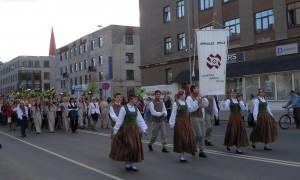 Spīdolas ģimnāzija Jelgavas svētku gājienā