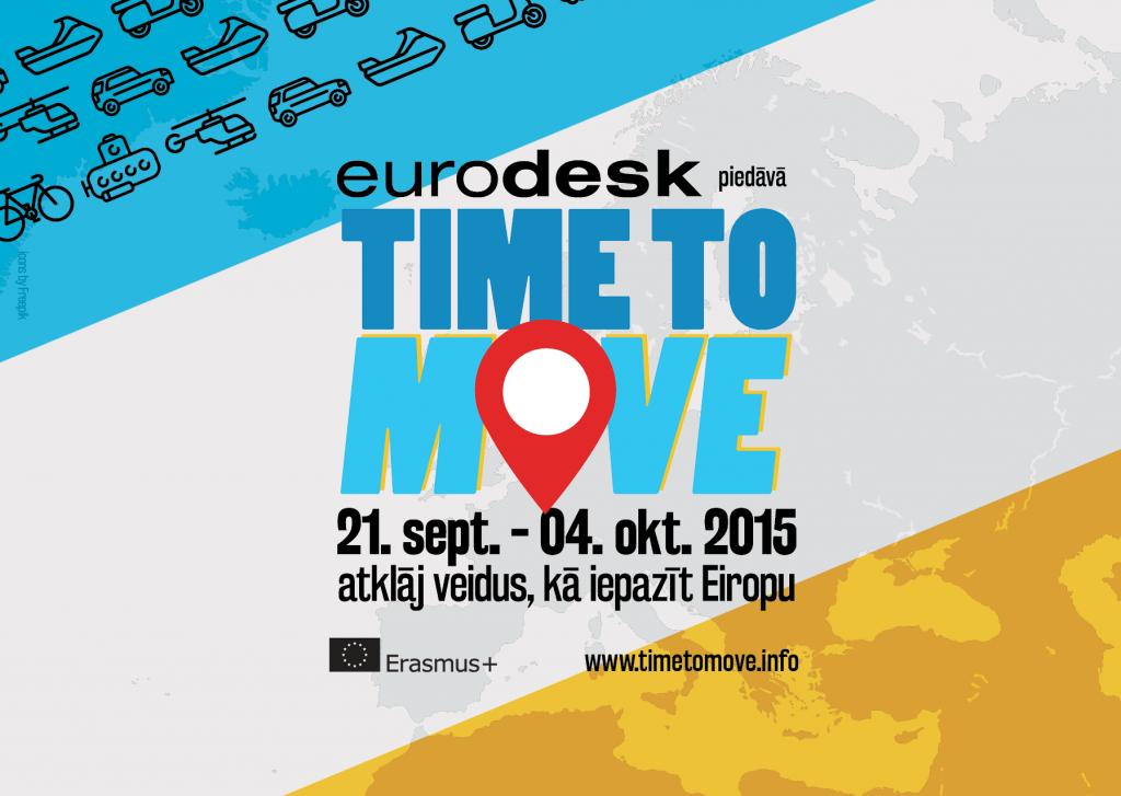 """Time to Move"" Eurodesk kampaņa Latvijā"